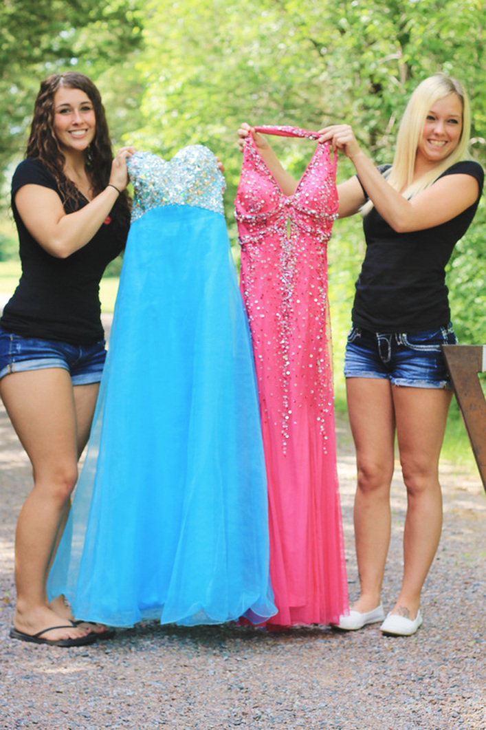 Trash the Prom Dress