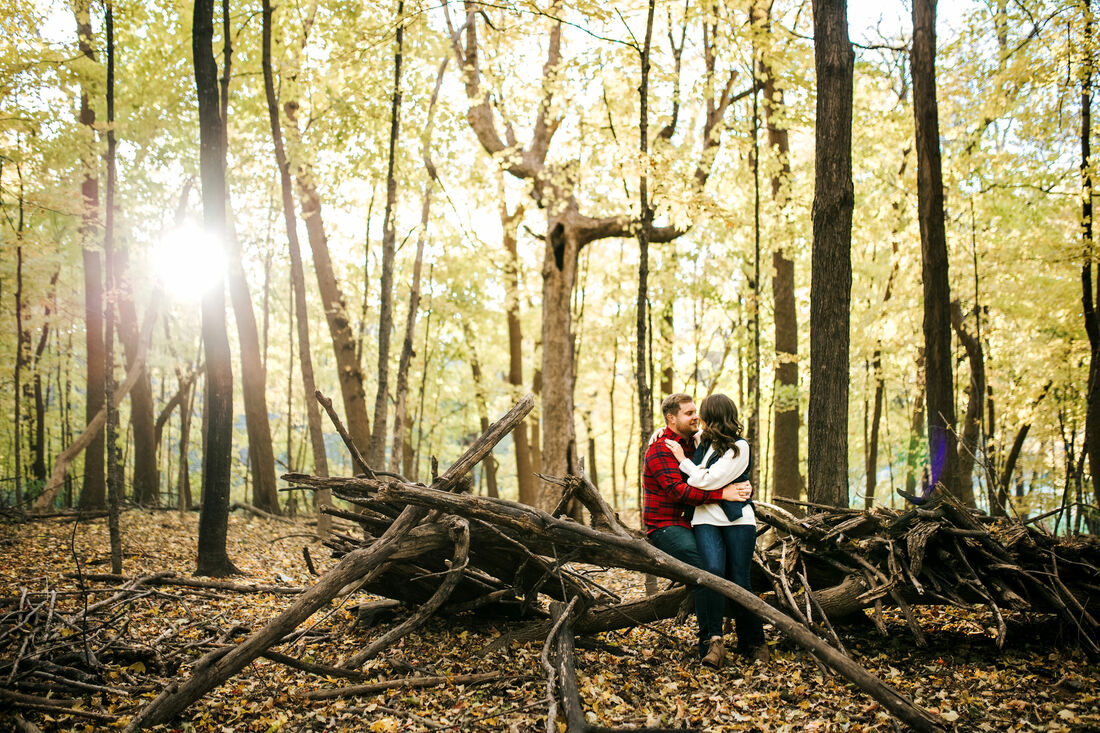 twin cities engagement photos