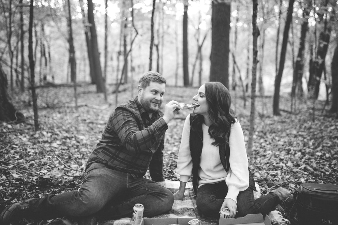 unique engagement session idea