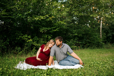 Monticello MN Maternity Session