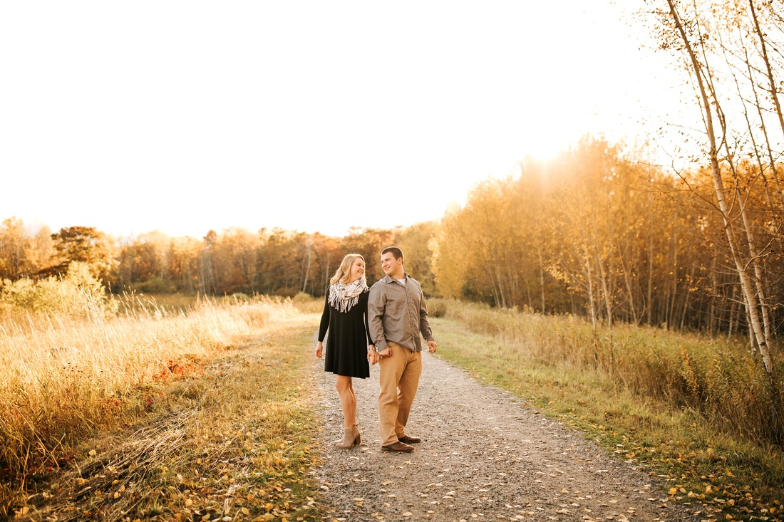 St. Cloud MN engagement photographer