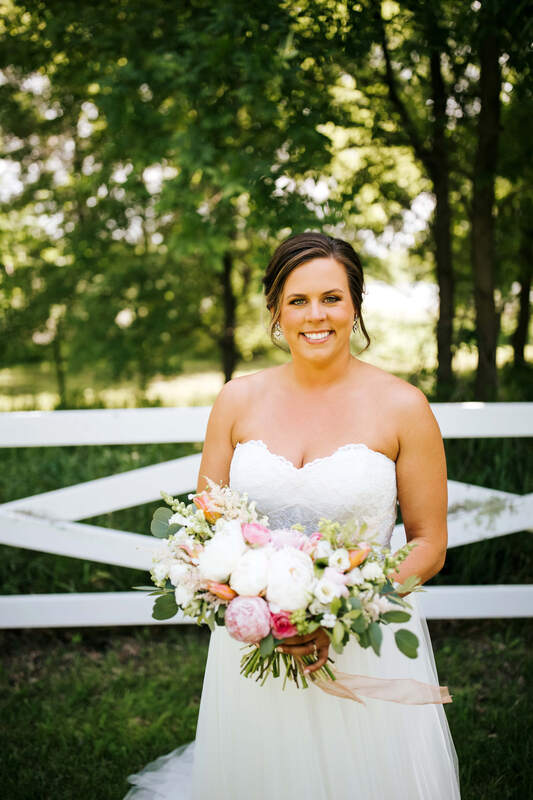Erickson Farmstead wedding