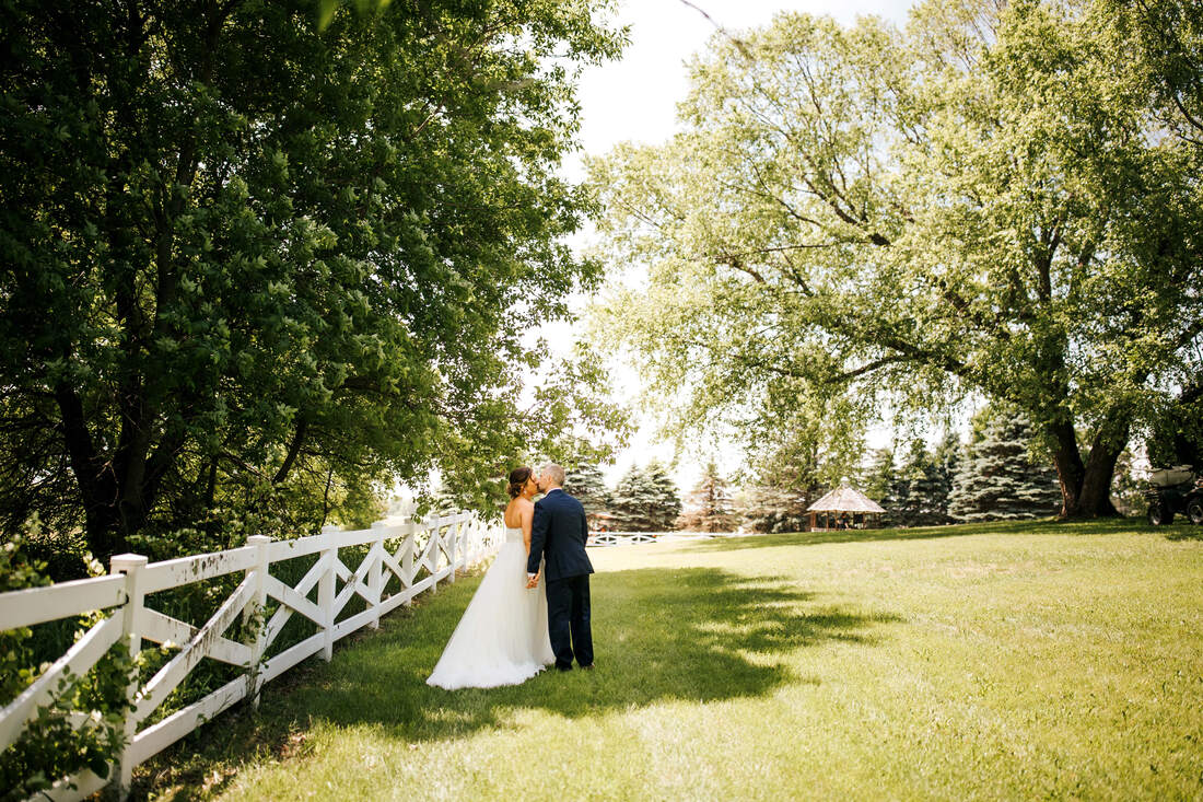 Erickson Farmstead real wedding