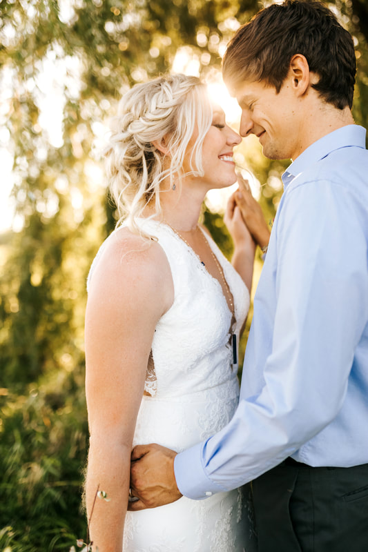 golden hour wedding mn
