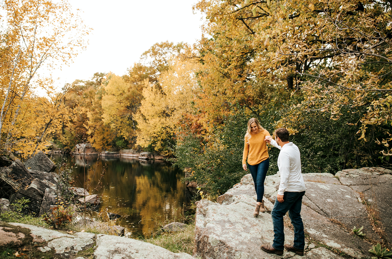 St Cloud MN engagement photography
